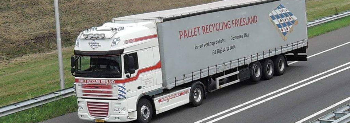 pallet recycling friesland daf truckrit 2017