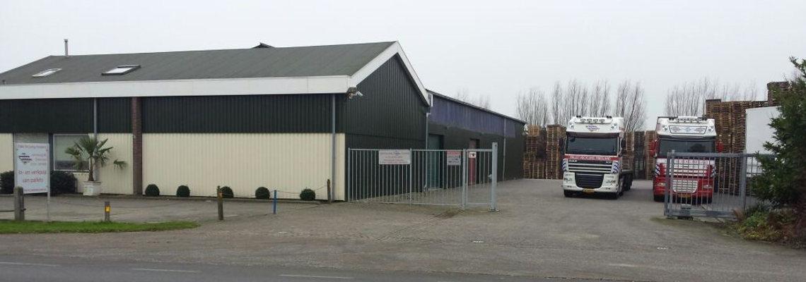 pallet recycling friesland kantoor voorkant terrein
